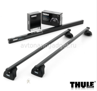 Багажник Thule SquareBar на стальных дугах для Ford Transit Custom Фургон 2013-2015