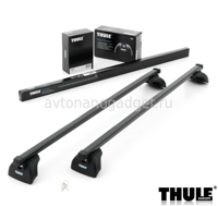 Багажник Thule SquareBar на стальных дугах для Chrysler Town and Country Минивэн 2001-2007