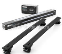Багажник Thule WingBar Black на аэродинамических дугах для Brilliance M2 Универсал 2009-2015