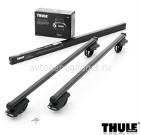 Багажник Thule SquareBar на стальных дугах для Chrysler Grand Voyager Минивэн 2008-2015