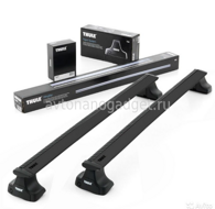 Багажник Thule WingBar Black на аэродинамических дугах для Acura TL