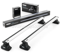 Багажник Thule WingBar на аэродинамических дугах для Chrysler Grand Voyager Минивэн 2001-2007