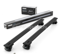 Багажник Thule WingBar Black на аэродинамических дугах для Chrysler 300C Универсал 2004-2010