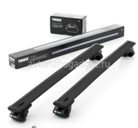 Багажник Thule WingBar Black на аэродинамических дугах для Honda Accord Универсал 2003-2007